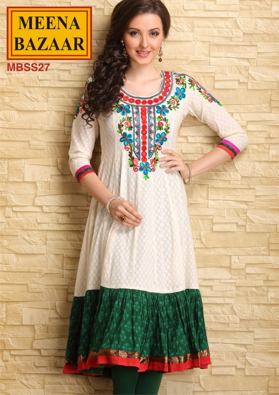 Meena Bazaar Formal Wear Collection 2013 For Women 0011