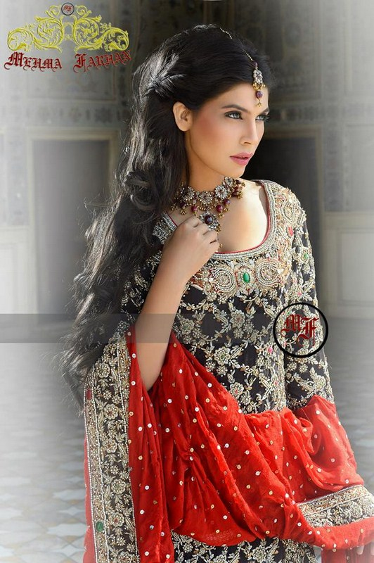 Mehma Farhan Bridal Wear Collection 2013 For Women 0024
