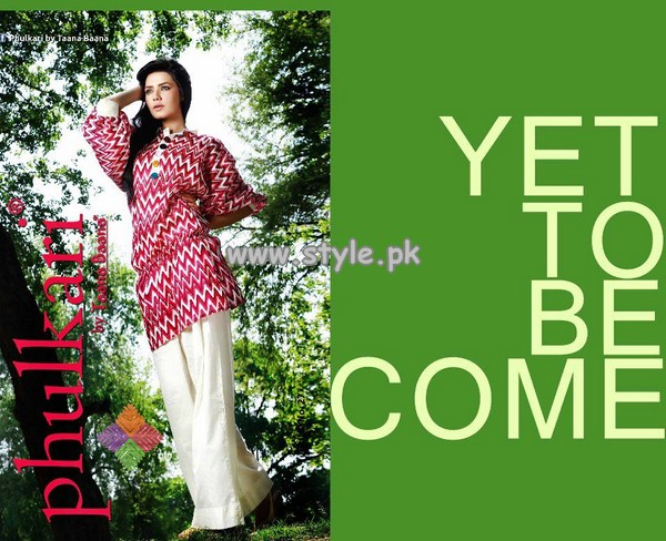 Phulkari by Taana Baana Formal Wear Collection 2013 002