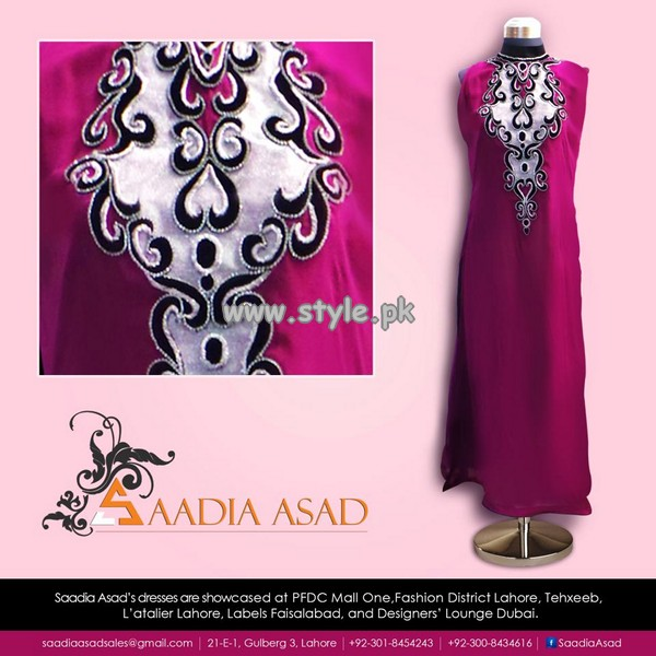 Saadia Asad Party Wear Collection 2013 For Summer 002