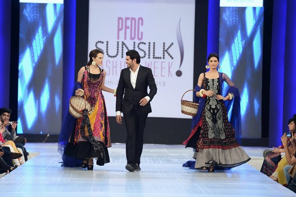Shariq Textiles Collection At PFDC Sunsilk Fashion Week 2013 006