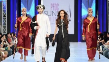 Sitara Textiles Collection for Men at PSFW 2013