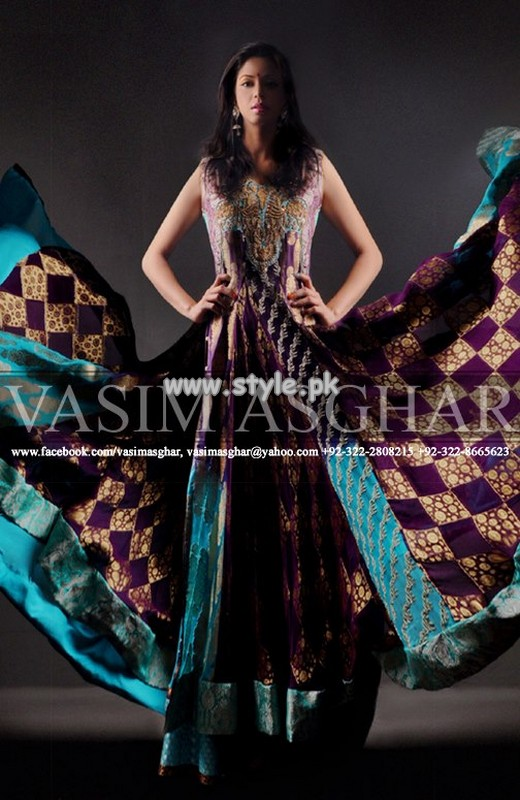Vasim Asghar Formal Wear Collection For Summer 2013 005