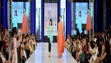 Zonia Anwaar Collection at PFDC Sunsilk Fashion Week 2013