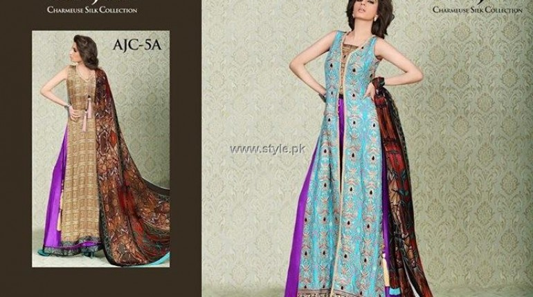 Asim Jofa Silk Collection 2013 for Women