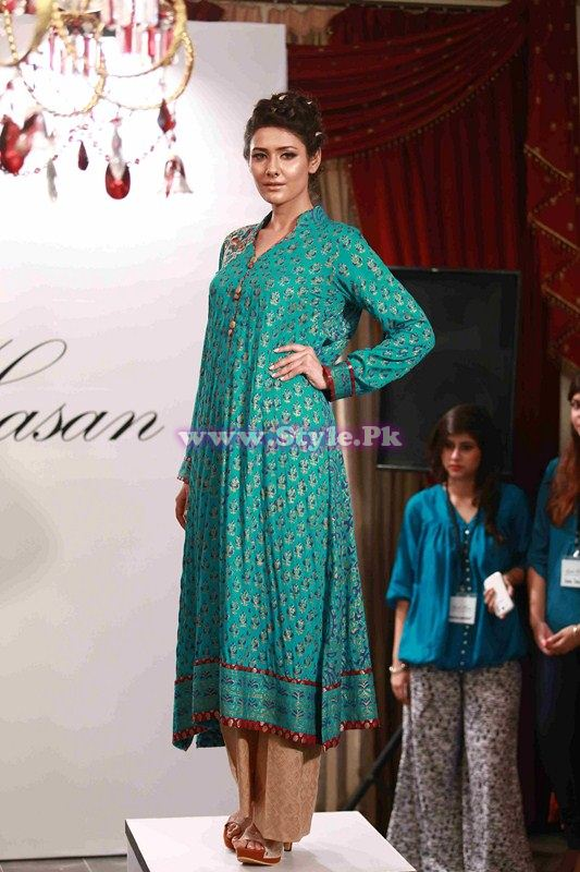 Ayesha Hassan Summer 2013 Semi-formal and Casuals collection