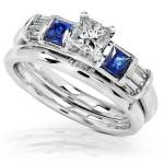 Beautiful diamond wedding rings