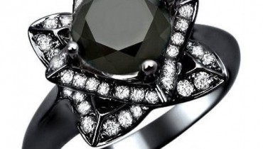 Black Wedding Ring For Women 66 Superb Black Diamond Engagement Rings