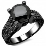 Black Diamond Engagement Rings 005 579x514