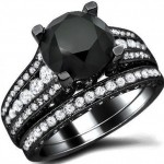 Black Diamond Engagement Rings 010 579x514