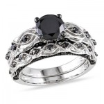 Black Diamond Engagement Rings 015 400x400