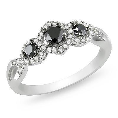 Wedding Rings Black Diamonds 31 Marvelous Black Diamond Engagement Rings