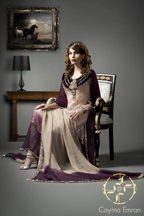 Cayma Emran Party Wear Dresses 2013 for Women