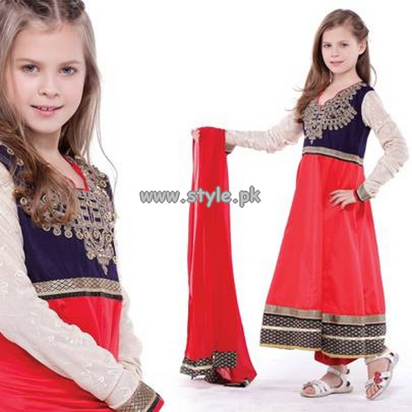 Eden Robe Kids Wear Dresses 2013 For Eid-Ul-Fitr 004