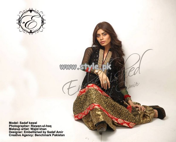 Embellished by Sadaf Amir Semi-Formal Collection 2013 For Women 005