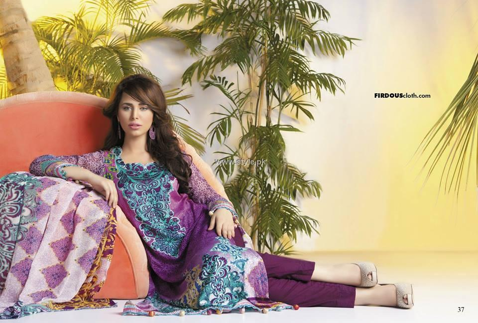 Firdous Chiffon Collection 2013 for Women