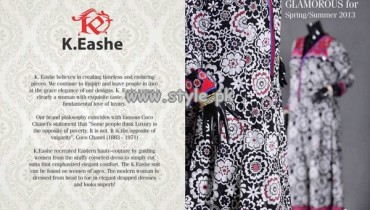 K.Eashe Summer Collection 2013 For Women 009