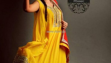 Mosiac by Sundus New Formal Wear Dresses 2013 for Women