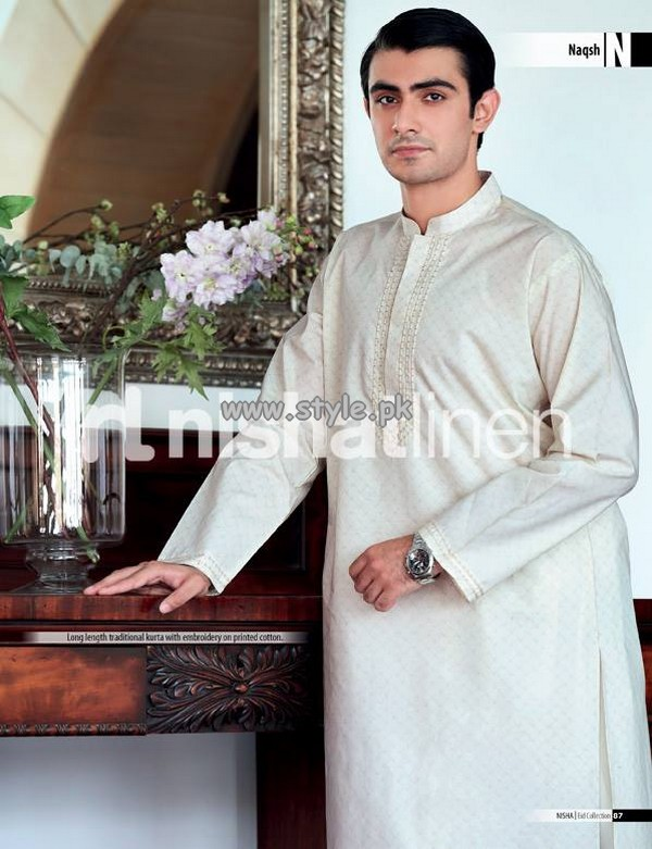 Naqsh by Nishat Linen Eid Collection 2013 003