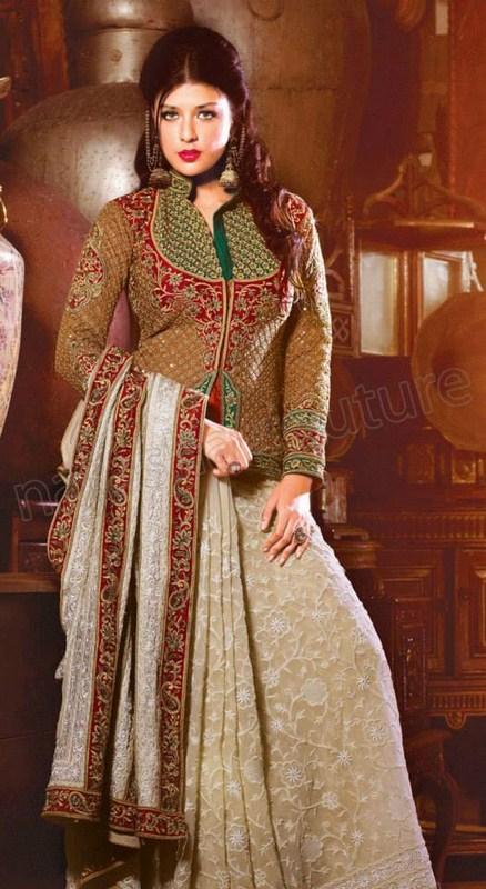 Natasha Couture Sarees And Lehenga Sarees Collection 2013 For Women 0020