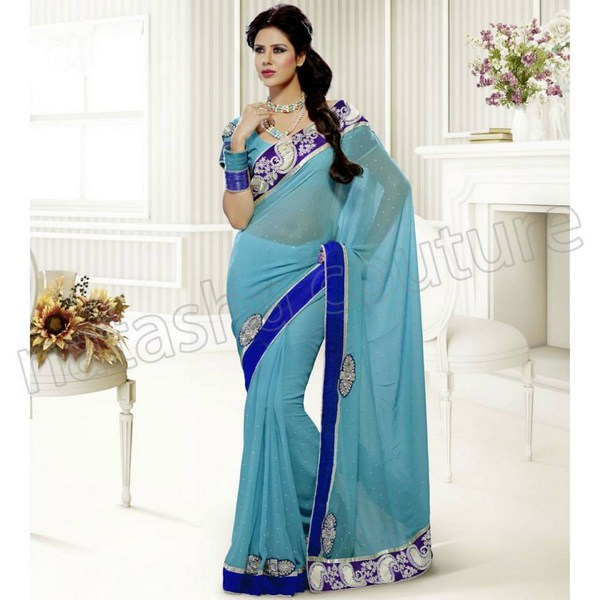 Natasha Couture Summer Saree Collection 2013 For Women 0019