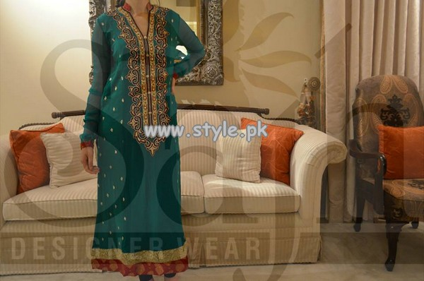 Sajh Designer Wear Formal Wear Collection 2013 For Women 007