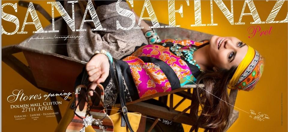 Sana Safinaz Pret Collection 2013 for Women