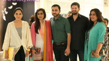 Sania, Wardha Saleem, Nubain, Tapu and Fathma at Dolmen Mall Store Launch