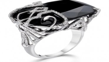 Black Wedding Ring For Women 56 Simple Unique And Unusual Engagement