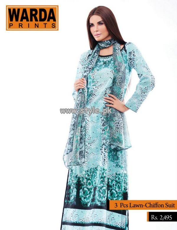 Warda Designer Lawn Collection 2013 Volume 3 004