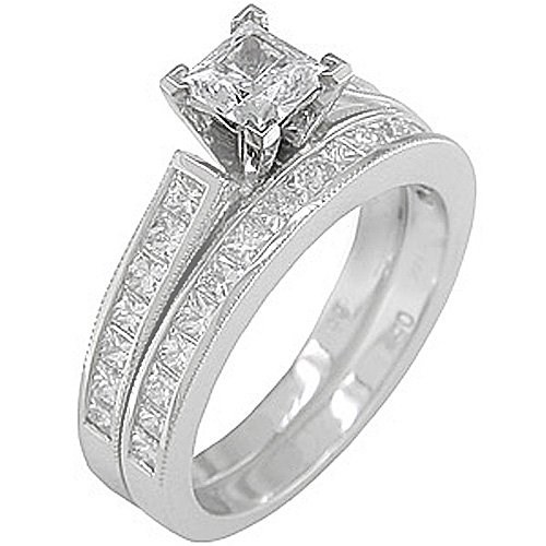 White Gold Diamond Rings For Men and Women