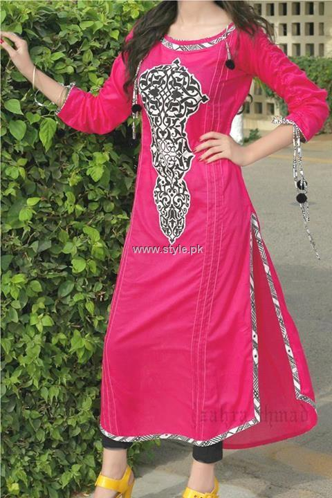 Zahra Ahmad Casual Wear 2013 Dresses for Women 006 pakistani dresses