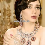 Afzal Jewelers Necklace Designs 2013 For Bridal Wear 003