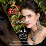 Afzal Jewelers Necklace Designs 2013 For Wedding 007