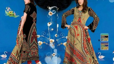 Al Hamra Textiles Kashish Lawn Collection 2013 Volume 3 For Women 00017
