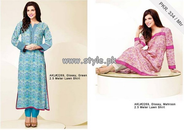 Al-Karam Textile Festive Single Prints 2013 For Eid 003