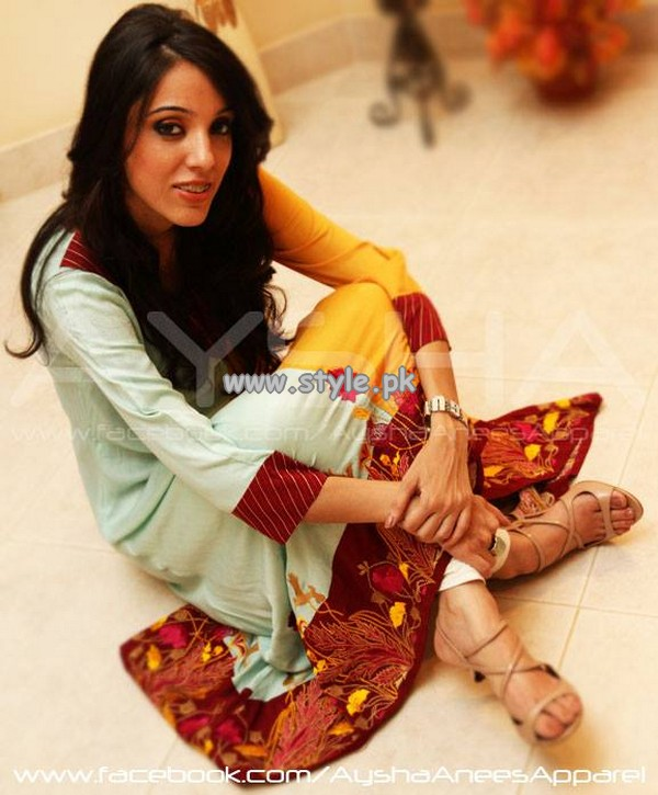 Aysha Anees Eid Collection 2013 For Girls 002