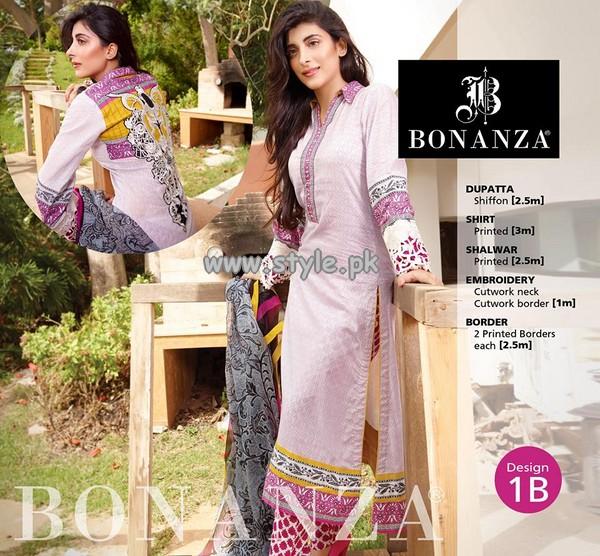 Bonanza Garments Eid Collection 2013 For Girls 001