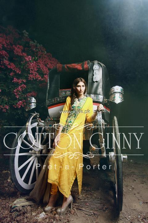 Cotton Ginny Eid Collection 2013 for Women