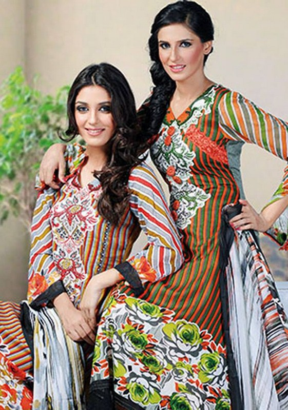 Dawood Textiles Aalishan Chiffon Lawn Collection 2013 Volume 3 For Women 005