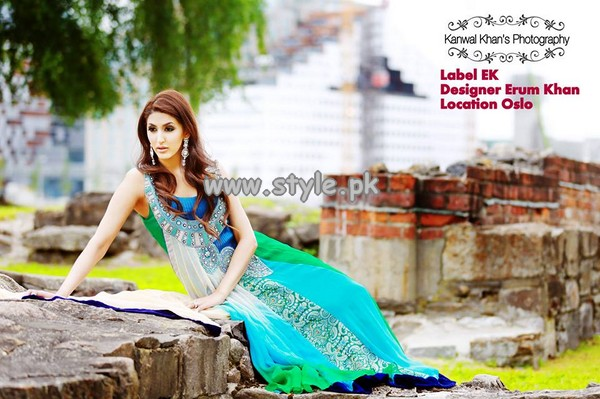 Erum Khan Party Wear Collection 2013 For Summer 001