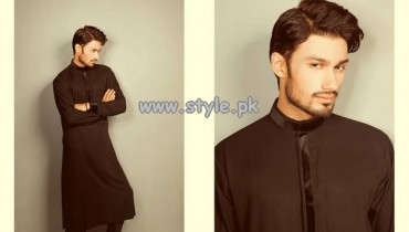 Fahad Hussayn Couture Eid Dresses 2013 For Men 006