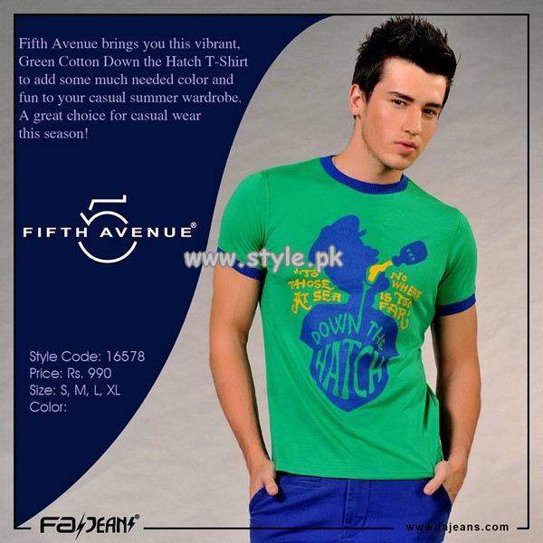 Fifth Avenue Clothing Eid Collection 2013 For Boys and Girls 001