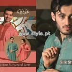 Grace Fabrics Eid Collection 2013 For Men 001