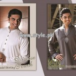 Grace Fabrics Eid Collection 2013 For Men 010