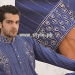 Grace Fabrics Eid Collection 2013 For Men 012