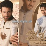 Grace Fabrics Eid Collection 2013 For Men 015