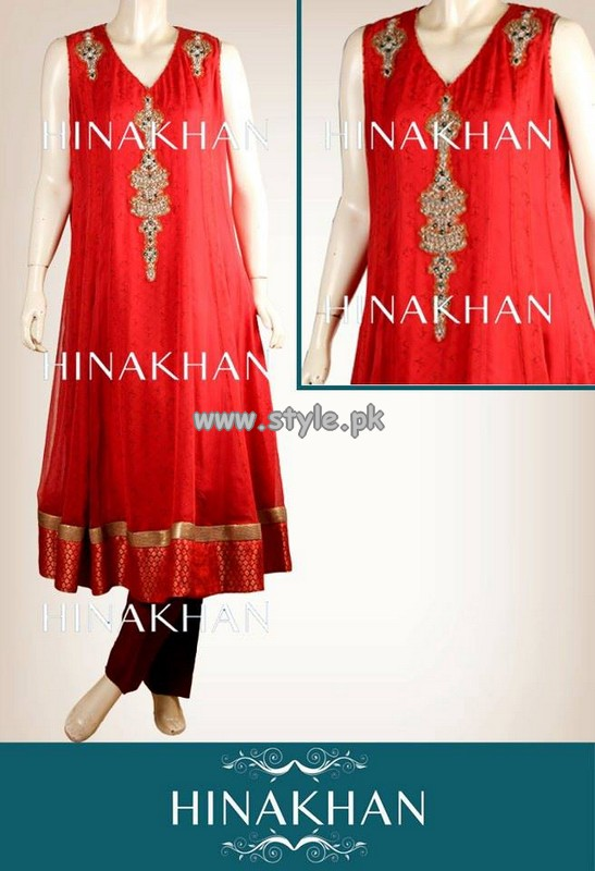 Hina Khan Eid Collection 2013 For Women 009