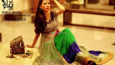 Jannat Nazir Eid Collection 2013 for Women