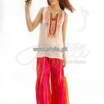 Jugaan Eid Collection 2013 For Girls 003